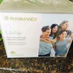 Nuskin lifepak nano anti-aging dietary supplement - 60 packets
