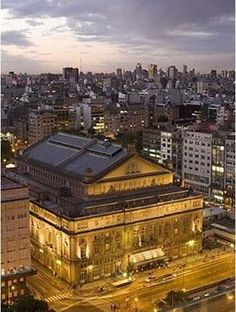 #Teatro Colón, Buenos Aires.  Arch. Francesco Tamburini, Vittorio Meano, Angelo Ferrari, Julio Dormal
