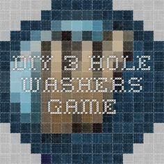DIY 3 Hole Washers Game