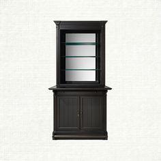 Athens Single Bar Cabinet in Tuxedo Black | Arhaus Furniture