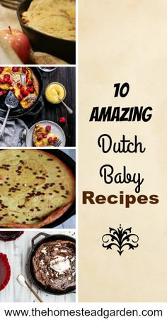 10 Amazing Dutch Baby Recipes Brunch Recipes, Baby Food Recipes, Breakfast Recipes, Cooking Recipes, Budget Recipes, Oven Cooking, Family Recipes, Breakfast Ideas, Family Meals