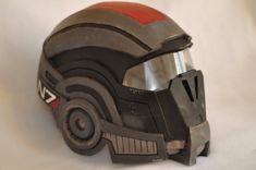 This is an game accurate N7 breather helmet, tailor made to your measurements. The material used is EVA foam. I work with high quality products to get