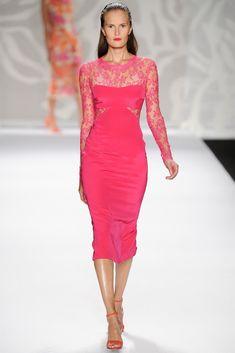 Monique Lhuiller (Colección SS 2014) #MBFWNY #vestidodefiesta #vestidosinvitadas #dress