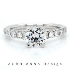 Beautiful round brilliant-cut graduated diamond engagement wedding ring. White gold, rose gold, yellow gold and platinum. Gold Simple Engagement Ring, Round Solitaire Engagement Ring, Three Stone Engagement Rings, Wedding Ring, White Gold, Rose Gold, Beautiful, Estate Engagement Ring, 3 Stone Engagement Rings