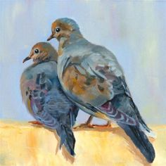 by Carol Flatt  -doves-they mate for life.