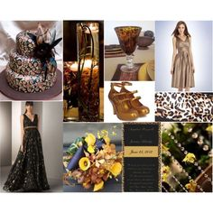 Theme Thursday: RAWR! Leopard Wedding