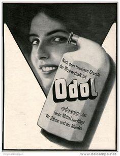 Original-Werbung/Inserat/ Anzeige 1912 - 1/1 SEITE - ODOL - ca. 200 x 280 mm