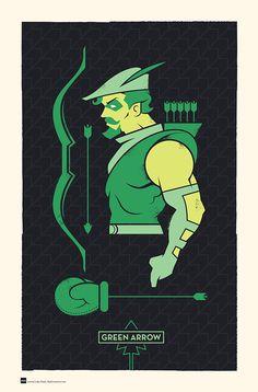 DC Hero Profiles: Green Arrow on Behance