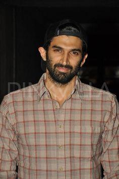 Aditya attendS special screening of 'Bobby Jasoos'
