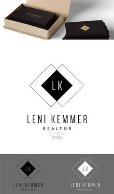 Realtor Logo. Classic Logo. Simple Logo. Photography Template. PSD Instant…