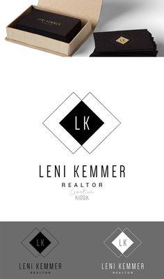 Logo de l'agent immobilier. Logo classique. Logo par CreativeKiosk