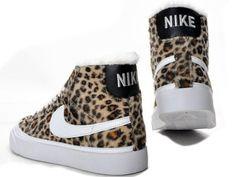 Shoes: leopard print, nike blazer, nike sneakers, nike, baby shoes ...
