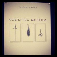 Noosfera Museum di Roberto Latini a #conte13