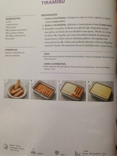 Abc Bimby (TM5) Tiramisu, Portuguese Recipes, Portuguese Food, Everyday Food, Other Recipes, Easy Cooking, Cake Cookies, Deserts, Good Food