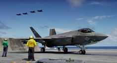 Beautiful Visuals Meet Mechanical Understanding in Aircraft Carrier Documentary. With some cool footage of F-35B and F-35C stealth jets. Large format filmmaker Stephen Low has taken his IMAX camera…