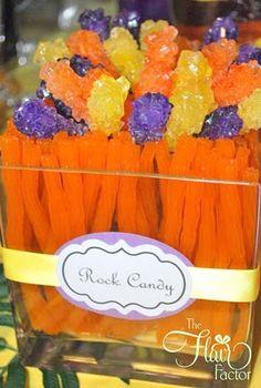Rock Candy Centerpiece