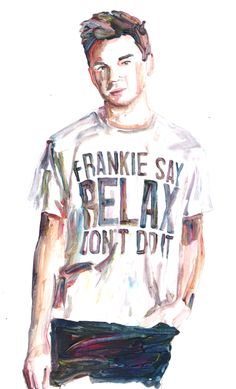 Frankie goes to Hollywood, relax Frankie Goes To Hollywood, Jazz, Blues, Relax, Facebook, Rock, Mens Tops, Life, Painting