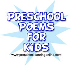 Poems For Kids - https://danerrobinson.wordpress.com//?p=947