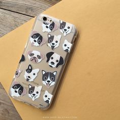 Clear TPU Case Cover - Puppy Love