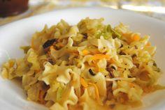 Łazanki z młodą kapustą i grzybami Pasta Salad, Ethnic Recipes, Food, Crab Pasta Salad, Noodle Salads, Meals, Macaroni Salad