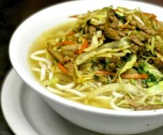 GYATHUK - his flavourful Thukpa recipe from Sikkim is an Indian version of Tibetan noodle soup. This appetizing noodle-based steamy soup is very filling. Gyathuk goes well with or without meat. The natural and refreshing spices add to the flavour of this palatable dish. Sikkim, India
