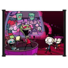 "Invader Zim Fabric Wall Scroll Poster (21"" x 16"") Inches by Wall Scrolls, http://www.amazon.com/dp/B0044R776U/ref=cm_sw_r_pi_dp_HhaUrb09S4CFF"