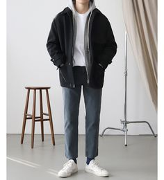 Women S Fashion During The Aesthetic Fashion, Look Fashion, Aesthetic Clothes, Fashion Outfits, Korean Fashion Men, Korea Fashion, Mens Fashion, Stylish Mens Outfits, Casual Outfits