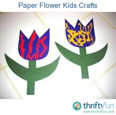 This guide is about paper flower kids crafts. Spend quality time creating simple craft projects with the children in your life.