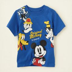 baby boy - graphic tees - Mickey & Friends graphic tee | Children's Clothing | Kids Clothes | The Children's Place