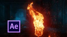 Realistic Fire Simulation - After Effects Tutorial http://produccioneslara.com/