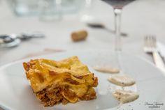 Мясная лазанья с соусом Бершамель