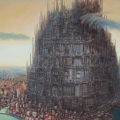 Arch Mundo - Arquitetura para um mundo melhor. | Artista pinta quadros que irão te fazer refletir sobre o futuro das cidades.