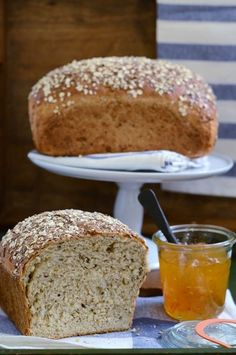 Multigrain Oatmeal Bread.Nuts, seeds and cracked wheat give this wholesome bread a wonderfully crunchy texture.