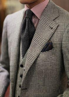 Glen Plaid 3P Suit