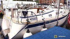 2017 Hallberg Rassy 372 Sailing Yacht - Deck and Interior Walkaround - 2...