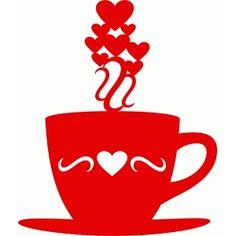 Silhouette Design Store: coffee love