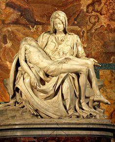 Pieta by Michelangelo  St. Peter's Basilica