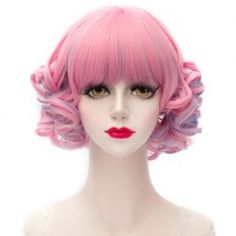 Synthetic Wigs For Women | Cheap Best Curly And Short Synthetic Wigs Online Sale At Wholesale Prices | Sammydress.com Page 6