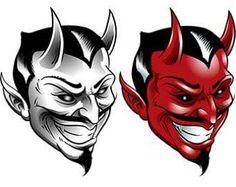 Resultado de imagen para devil traditional tattoo