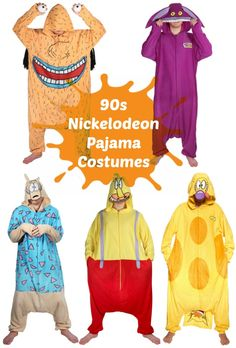 It may be 2015, but the 90s are BACK! These pajama costumes would make a perfect group costume.
