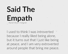 Introverted or extroverted based on my surroundings 💫 Be around people that bring you peace. Great Quotes, Quotes To Live By, Inspirational Quotes, Peace Quotes, Happiness Quotes, Awesome Quotes, Quotes Quotes, Motivational Quotes, Infj