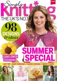 Simply Knitting August 2014