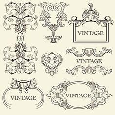 Vintage Vector Backgrounds | illustrator vector
