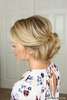 Pretty updo for brides with short hair wedding hairstyles 3 stunning updos that you can do yourself short emo hairstylesbridal solutioingenieria Choice Image