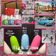 "today and OMGoodness! The next installment of ""The Decades Collection is beyond gorgeous! I'm lovin' these beauties! Nail Polish Sets, Spring Colors, The Next, Indie Brands, High Gloss, Hue, Blessed, Nails, Instagram Posts"