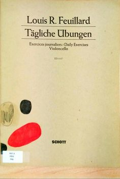 FEUILLARD, Louis R. Tägliche Übungen. Schott.