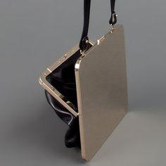 Metal / Leather Bag. Maison Martin Margiela