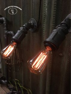 Design your own pipe lighting Vintage industrial style
