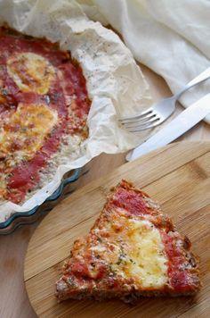 Pizza di carne tritata