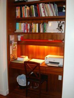 Small Built In Desk Ideas